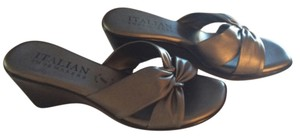 Other Pewter Bronze Gray Grey Sandals