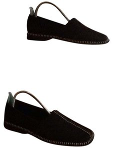 Cole Haan Black, white Flats