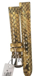 Michele NWT MICHELE YELLOW MULTI STRAP 20MM MS20AB320702