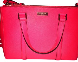 Kate Spade Satchel in Strawberry Red