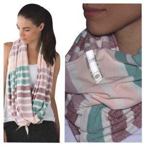 Lululemon New With Tags Lululemon Vinyasa Scarf One Size Multi-color