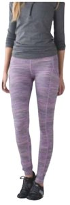 Lululemon Euc Lululemon Speed Tight Size 8 Space Dye Leggings