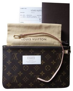 Louis Vuitton Neverfull Pochette Made In France Mm Or Gm Monogram