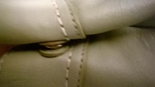 Coach Leather Upscale New Satchel in Sage Green Image 5