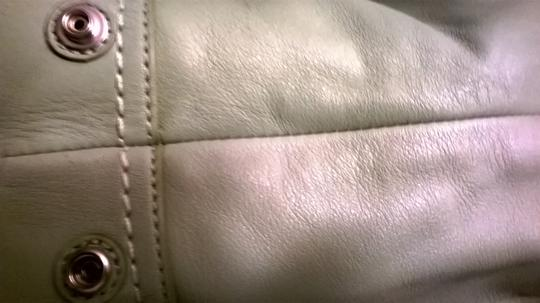 Coach Leather Upscale New Satchel in Sage Green Image 6