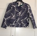 J.Crew Navy and Ecru Fanfare Print Jacket Image 2