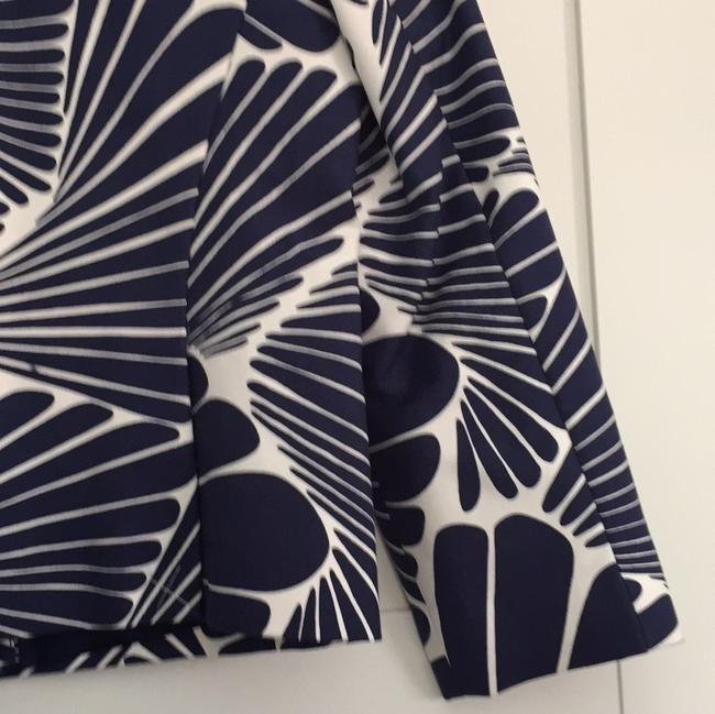 J.Crew Navy and Ecru Fanfare Print Jacket Image 6