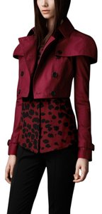 Burberry Coat Coat Alizarin Crimson Jacket