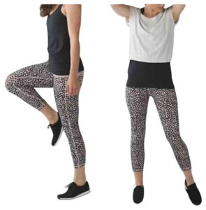 Lululemon New With Tags Lululemon Wunder Under Pant Dance Special Edition Ace Spot Size 4