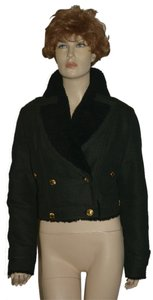 Burberry Shearling Wool Lambskin Coat