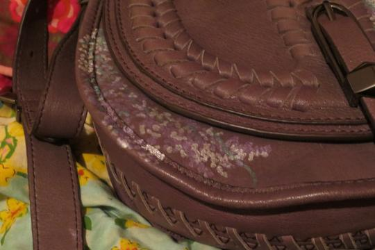 Other Hand Painted Whip Stitch Cross Body Bag
