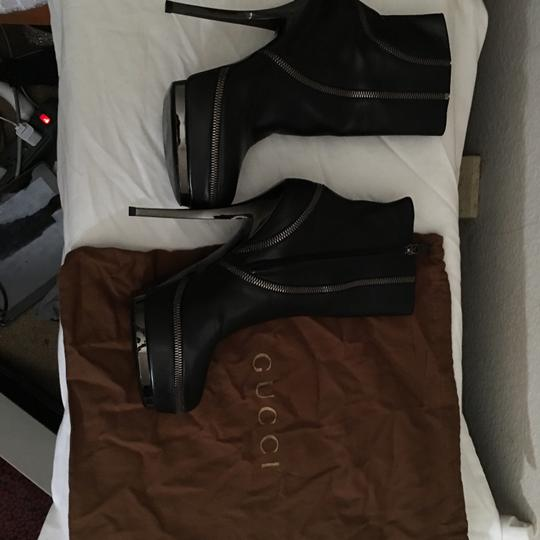 Gucci Blac Boots Image 5