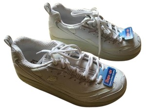 Skechers Leather White Athletic