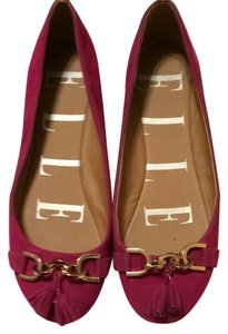 Ellie Shoes Fuschia Flats