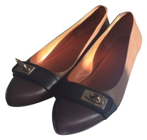 Givenchy Brown and Black Flats