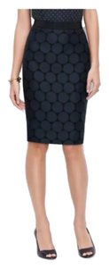 Ann Taylor Skirt Blue/Black