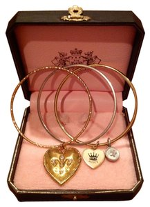 Juicy Couture Juicy Couture Heart Bracelet/Bangle Set