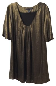 French Connection Metallic Mini Evening Dress