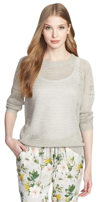 Preload https://img-static.tradesy.com/item/10840771/joie-gray-ronni-linen-taupe-sweaterpullover-size-2-xs-0-1-650-650.jpg