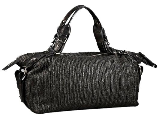 Preload https://item5.tradesy.com/images/kenneth-cole-up-oversized-hk61463-black-raffia-leather-satchel-1084104-0-0.jpg?width=440&height=440