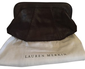 Lauren Merkin Chocolate Clutch