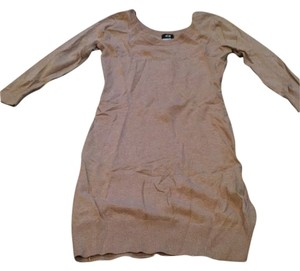 H&M short dress Camel on Tradesy