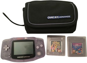 Nintendo Gameboy Advance with Carrying Case and 2 Games
