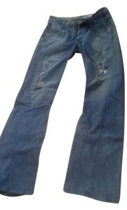 logan Boot Cut Jeans-Distressed