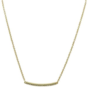 T Tahari Essential Pave Bar Necklace
