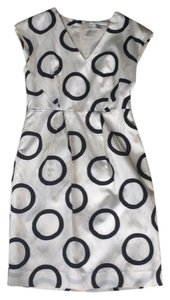 Banana Republic Sheath V-neck Silk Fitted Dress
