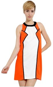 Mustard Seed short dress Orange Neon Strappy Back on Tradesy