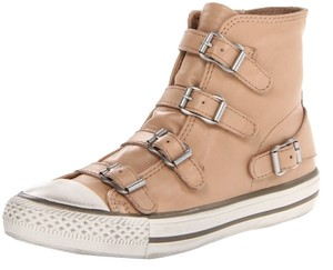 Ash New Sneaker High Tops Buckles Neutral Boots