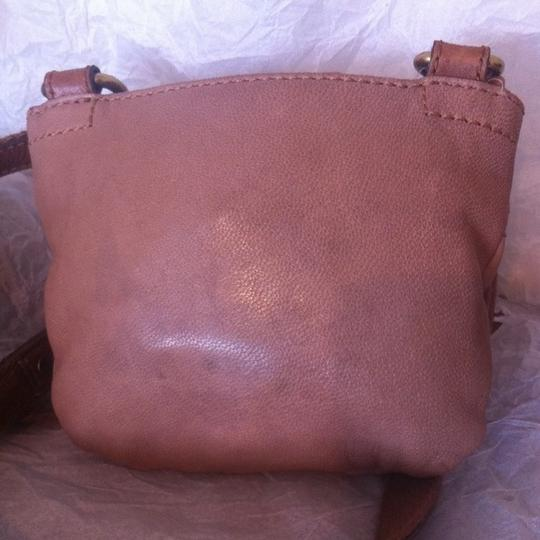 Fossil Mason Small Flap Leather Brass Chain Zb5135 Cross Body Bag Image 2