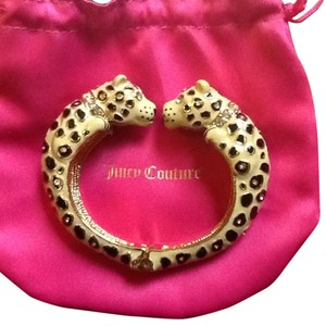 Juicy Couture Juicy Couture Kissing Leopard Bracelet