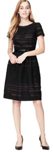 Ann Taylor LOFT Party A-line Striped Date Night Dress