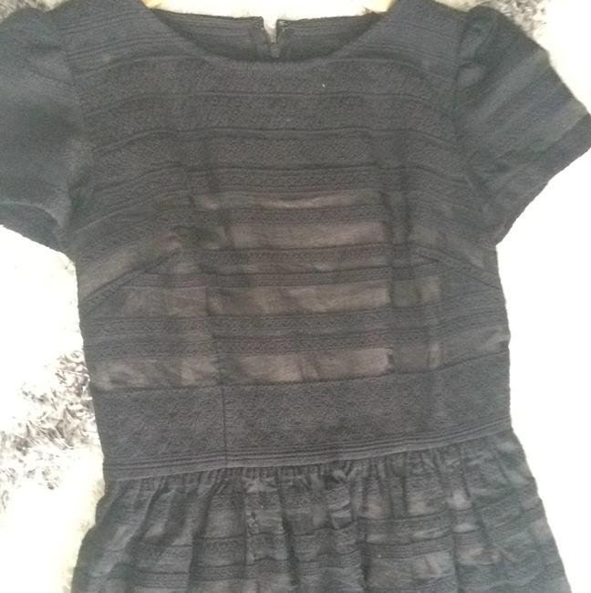 Ann Taylor LOFT Party A-line Striped Date Night Night Out Dress Image 3