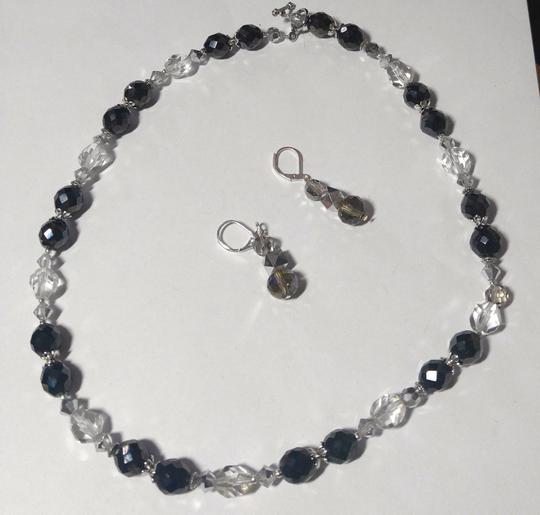 Other Handmade Swarovski Crystal Necklace & Earrings Set A089 Image 1