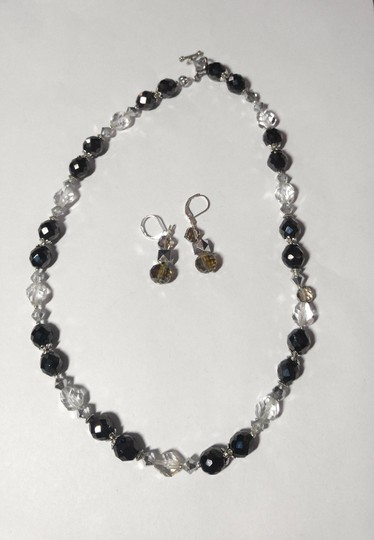 Other Handmade Swarovski Crystal Necklace & Earrings Set A089 Image 2