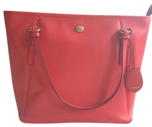 Coach Spring Summer Tote in Red