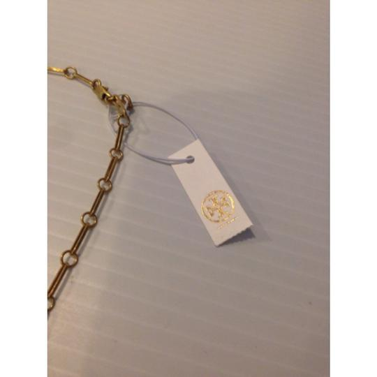 Tory Burch TORY BURCH NWT FAUX PEARL CHARM NECKLACE Image 3