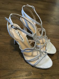 Nina Shoes Ruthie - Fy Silver Classy Small Platform Wedding Shoes