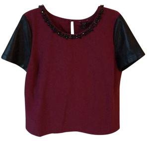 Guess Top Burgundy