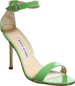 Manolo Blahnik Limited Edition Green Pumps