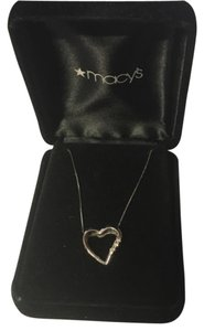 Macy's Diamond Heart Necklace