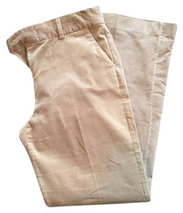 Express Boot Cut Pants Tan/Khaki