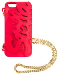 Stella McCartney Stella McCartneyLogo Script iPhone 6 Case on Chain