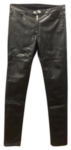 Divided by H&M Faux Leather Stretchy Skinny Pants Black