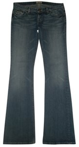 BKE Low Rise Flare Leg Jeans-Medium Wash