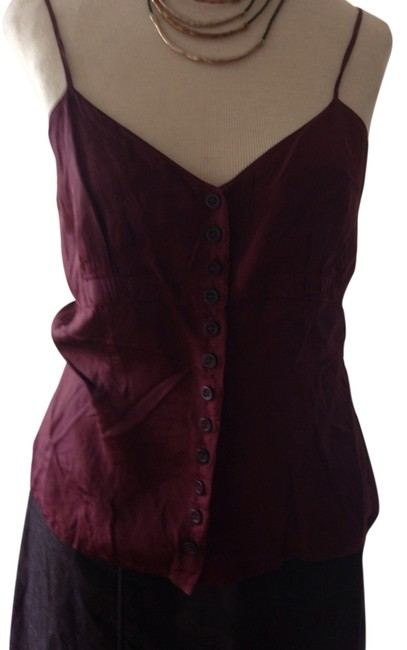 Dries van Noten Top Maroon