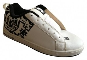 DC Shoes White Athletic
